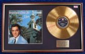 Elvis Presley - 24 Carat Gold Disc LP + Cover - How Great Thou Art